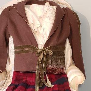 Anthropologie Hazel Vintage jacket wool blend L